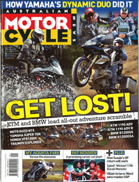 Read the Australian Motorcycle News Pirelli Angel GT test review
