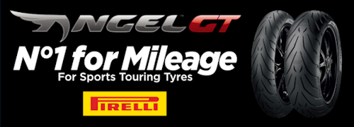 Pirelli Angel GT No1 for Mileage for Sport Touring Tyres - Get your Pirelli Angel GT at Balmain Motorcycle Tyres
