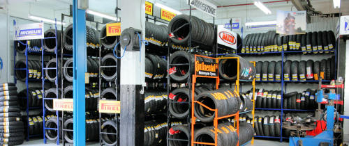 Australia's Largest Selection of Pirelli, Michelin, Avon & Bridgestone Motorcycle Road Tyres at Competitive Prices