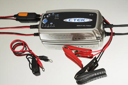CTEK MXS-7.0 Battery Charger, the XS7000 is ideal for your Motorcycle, ATV, Quad Bike, Jet Ski, Snowmobile, Boat, Car, 4WD, RV's & Truck - Price $229.84