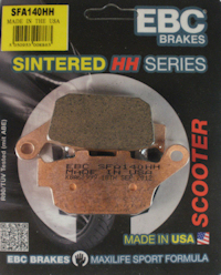 EBC Scooter HH Brake Disc Pads