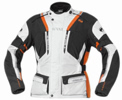 Held Hakuna motorcycle jacket white orange