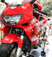 Honda Firestorm VTR1000 major service - Get your new motorbike log book service done here while under warranty at an affordable price