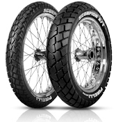 Pirelli Scorpion MT90/AT Dual purpose adventure tyres OE on KTM 990 Adventure tyres