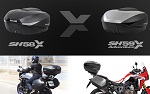 Shad moto luggage SH58X & SH59X adventure top box