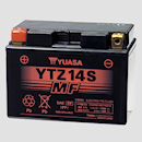 Yuasa YTZ14S battery discounted price $249.00 to suit KTM 990 Super Duke - Honda ST1300 - Yamaha FZS1000 - FZ1 - Honda VT1100 Shadow - VT750DC