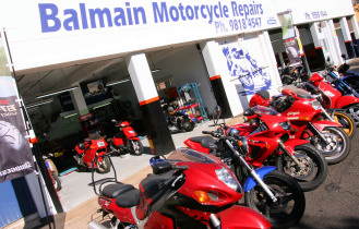 balmain motorcycle repair shop-sydney body smash repairs